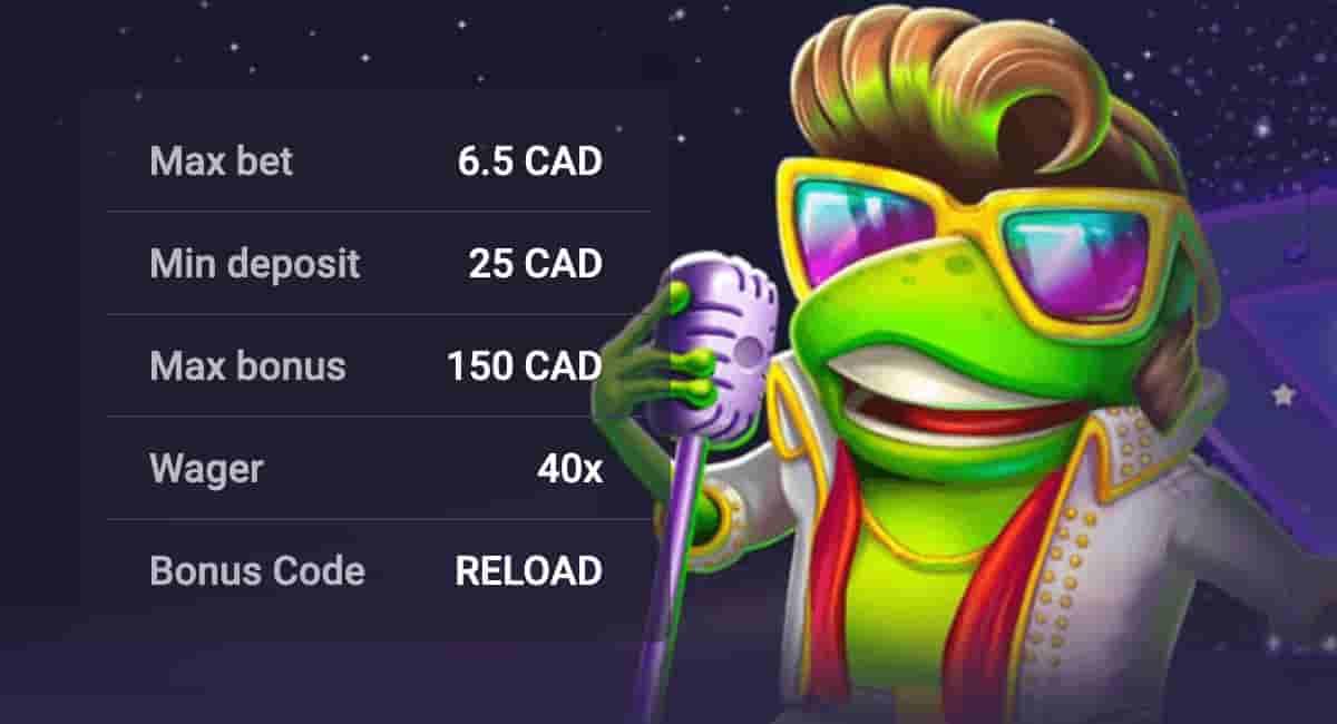 Woo Casino Weekend Reload Bonus